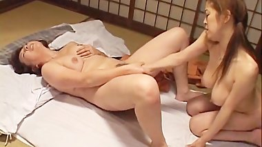Mature nipponjin chick has lez part5