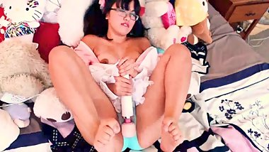 Momoka Koizumi - Asian Hentai Makes Herself Cum