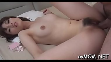 Finger fucking oriental slut mommy