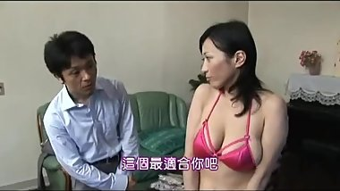 Natsumi Kitahara gets Fucked by a lucky salesman