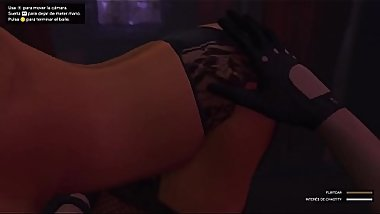 Grand Theft Auto V Chastity Manoseada anal sex