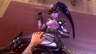 Overwatch one Kiss  PMV  nightmare