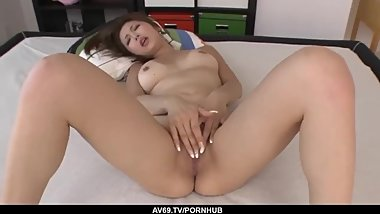 Mai Kuroki hardcore sex moments in the bedroom - More at 69avs.com