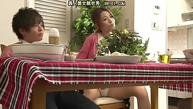 [JAV] Japan TVshow Step mom+son