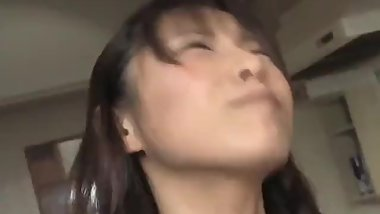 Momo Aizawa has shaved twat licked and fucked with vegetables