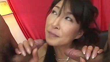Mature japanese Milf who Love Creampie