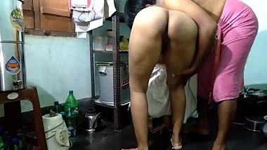 Fucking Big Ass Step Mom In Kitchen Floor Doggy Style