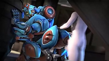 SFM Overwatch Porn Collection Orisa s new Function bbc sex
