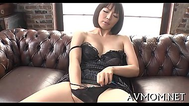 Slutty asian mother i'_d like to fuck enjoys cock