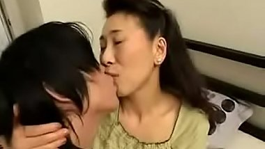 Young Son Fucks Japanese Mature Stepmom