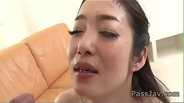 Japanese babe&nbsp_Ryu Enami engulfs a tasty dick&nbsp_on cam&nbsp_